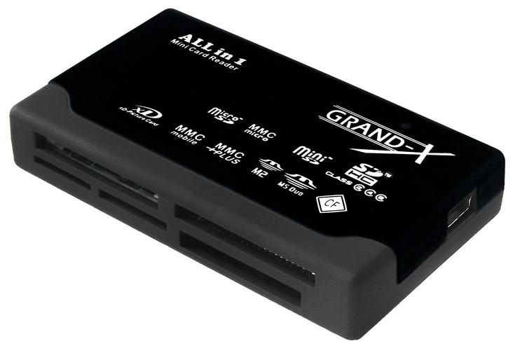 Картридер GRAND-X CRX 02 Black