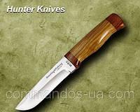 Нож охотничий. Рукоять - орех