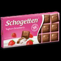 Шоколад Schogetten Yoghurt-Strawberry 100g (15шт/ящ)