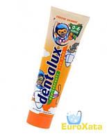 Детская зубная паста Dentalux for Kids Freche Orange