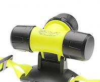 Фонарик налобный для дайвинга Police Bailong BL-6800, желтый