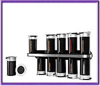 Набор контейнеров для специй Wall Mounted Magnetic Spice Rack на 12 емкостей.