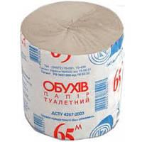 Туалетная бумага серая Обухов 48 рулонов