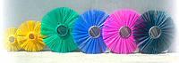 Щетка дисковая 220х900 полипропиленовая беспроставочная (производство Беларусь)