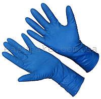 Перчатки латекс High Risk хозяйственные синие р.М 50 шт
