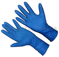 Перчатки латекс High Risk хозяйственные синие р.XL 50 шт