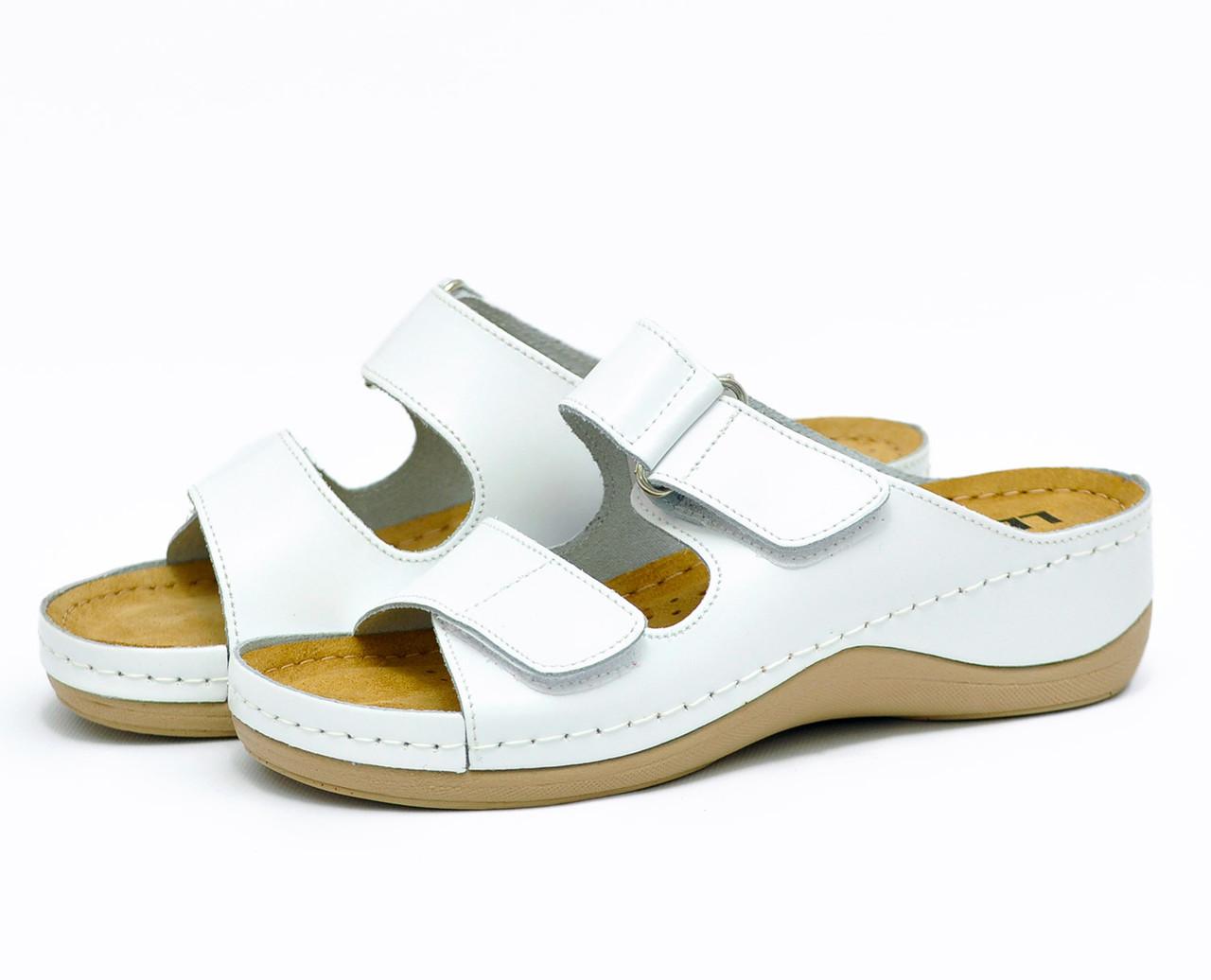Сабо Leon 905 Белые
