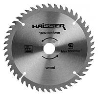 Диск пильный Haisser 160х16/20 48 зуб по дереву