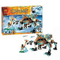 Конструктор Bela 10293 аналог LEGO Chima Саблезубый шагающий робот Сэра Фангара 414 дет