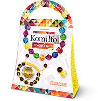 Плетение из бисера  Ожерелье+браслет'Шамбола' (Ка-01-06), фото 1