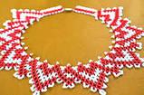 Плетение из бисера  Ожерелье+браслет'Шамбола' (Ка-01-06), фото 4