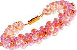 Плетение из бисера  Ожерелье+браслет'Шамбола' (Ка-01-06), фото 6