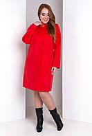 """Пальто """"Фортуна лайт Donna элит"""" Красный XXXL, XL"""