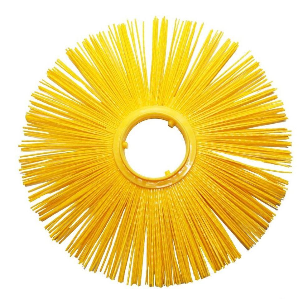 Щетка дисковая 101х400 полипропиленовая беспроставочная (производство Беларусь)