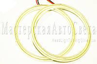 """Ангельские глазки LED-COB 80 мм. для биксеноновых линз 2,5"""" (⌀64мм), фото 1"""