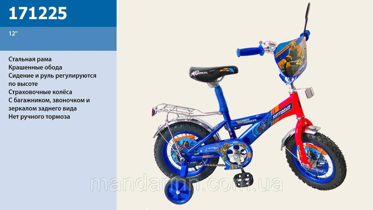 "Детский велосипед ""Оптимус Прайм"" 171225 12д."