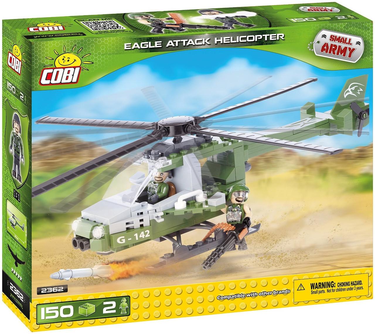 """Конструктор Атакующий вертолет """"Eagle"""" COBI серия Small Army (COBI-2362)"""