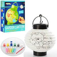 Развивающий детский фонарик - раскраска + краски+фломастеры