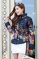 Куртка с цветочным принтом