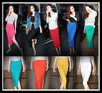 Легкая длинная юбка!