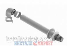 Комплект коаксиальный (труба (L=0,75 м) д. 60/100мм + колено д. 60/100) Saunier Duval - Инсталл Маркет в Днепре