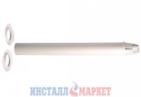 Коаксиальная труба с наконечником д.60/100 мм,L=1000 мм Ferroli