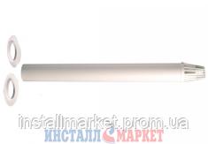 Коаксиальная труба с наконечником д.60/100 мм,L=1000 мм Ferroli - Инсталл Маркет в Днепре