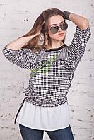 Весенняя женская блузка от производителя 2017 - (код бл-84)