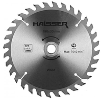 Диск пильный Haisser 190х30 24 зуб по дереву