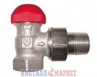 Термостатический клапан ГЕРЦ-TS-90-V угловой 1/2