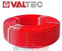 Труба Valtec из сшитого полиэтилена PEX-EVOH, д.16 мм,красная