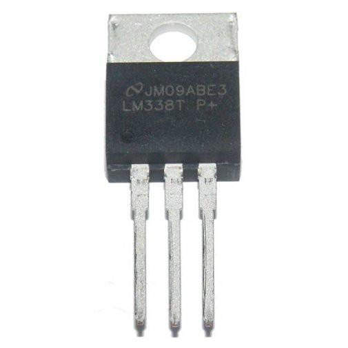 LM338T Регулируемый стабилизатор напряжения, 5А, 1.2В…32В TO220