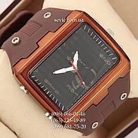 Брендовые наручные часы O.T.S 6756 Black\Brown