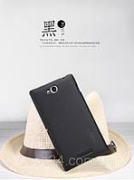 Чехол Nillkin для Sony C C2305 черный (+пленка), фото 1