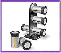 Набор контейнеров для специй Wall Mounted Magnetic Spice Rack на 6 емкостей.