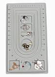Доска планшет для сборки бус браслетов 41х23 см 3 ряда, фото 2