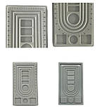 Доска планшет для сборки бус браслетов 41х23 см 3 ряда, фото 3