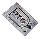 Доска планшет для сборки бус браслетов 41х23 см 3 ряда, фото 4