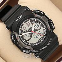 Брендовые наручные часы O.T.S 8003 Black\Grey