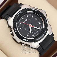 Брендовые наручные часы O.T.S 8009 Silver\Black