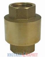 Обратный клапан 1 1/2 с латунным штоком
