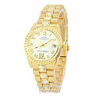 Наручные часы Rolex B61 Full Pave All Gold