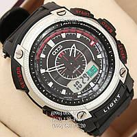 Брендовые наручные часы O.T.S 8012 Silver\Red