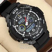 Брендовые наручные часы O.T.S 8020 Black\White