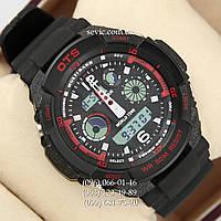 Брендовые наручные часы O.T.S 8020 Black\Red