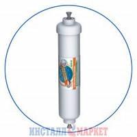 Постфильтр с углём из скорлупы кокосовых орехов (быстроразъёмное соединение) Aquafilter AICRO-QC