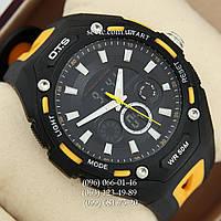 Брендовые наручные часы O.T.S 8026 Black\Yelloy