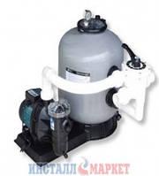 Фильтрационная установка 8.1 м3/ч с насосом SS075 с боковым подключением Emaux