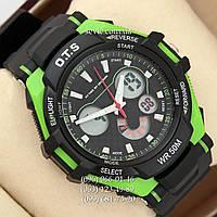 Брендовые наручные часы O.T.S 8028 Black\Green