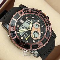 Брендовые наручные часы O.T.S 8107 Black\Brown
